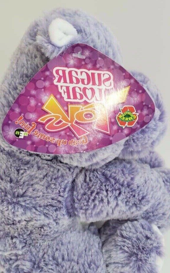 NWT Sugarloaf Purple Hippo Toy Stuffed Animal 2017