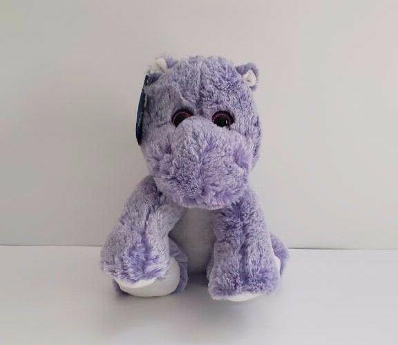 nwt sugarloaf kellytoy purple hippo soft plush