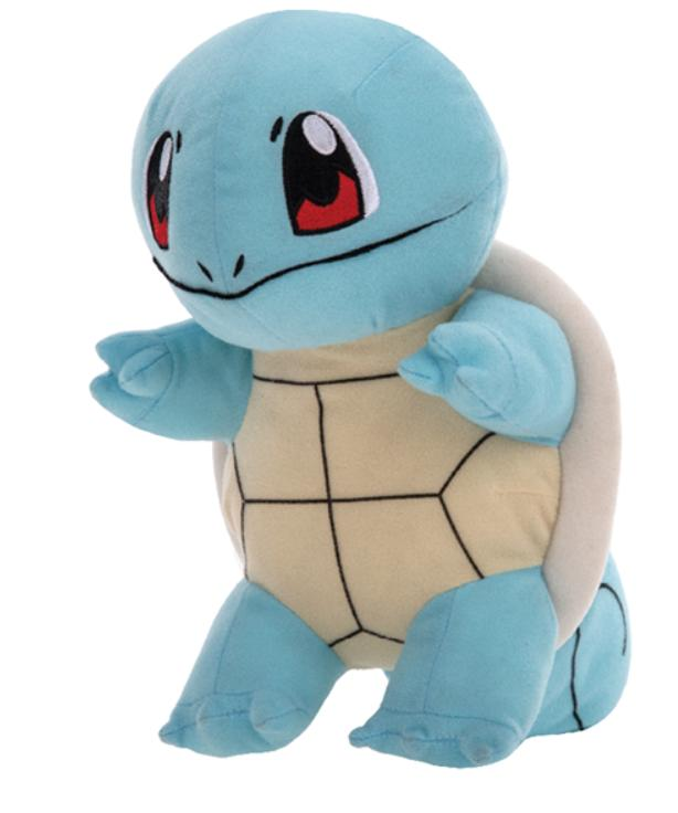 Official Licensed Pokemon Squirtle Plush Stuffed Doll Toy Gi