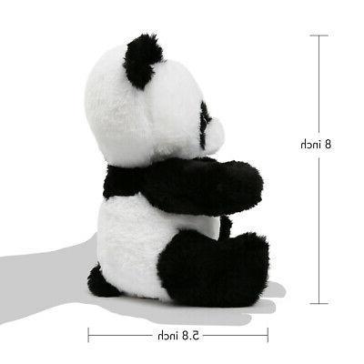 Panda Animals Kids Black