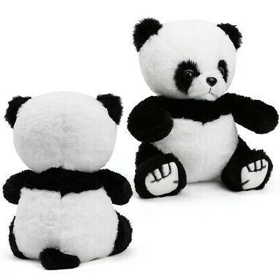 Panda Teddy Stuffed Animals Kids Baby Gifts White Black