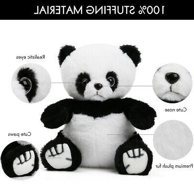 Panda Bear Kids Baby Gifts White Black