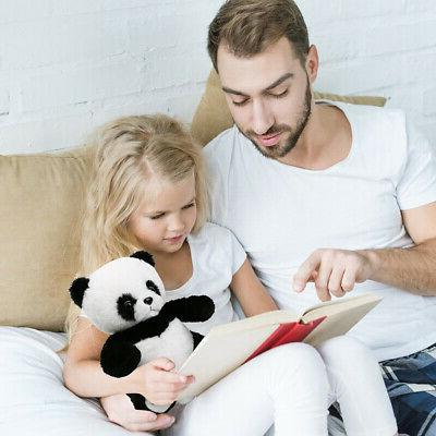 Panda Teddy Bear Stuffed Animals Plush Toy Kids Baby White Black