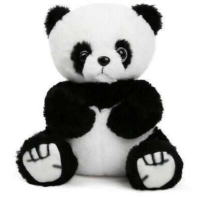 Panda Bear Stuffed Animals Plush Soft Kids Gifts Black