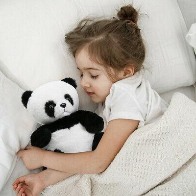 Panda Animals Plush Kids Black