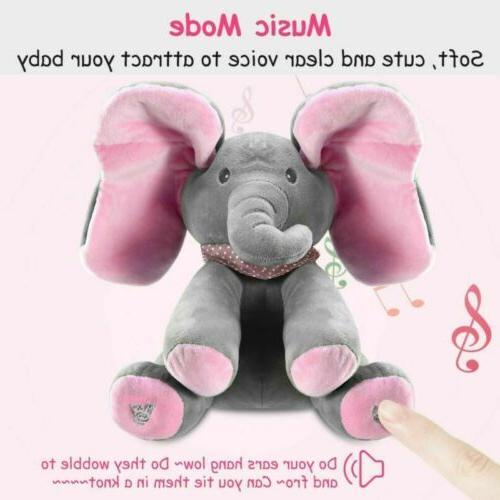 Peek-a-Boo Singing Doll Toy