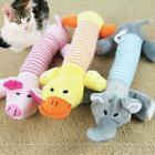 Pet Dog Cat Multi-shapes Squeaker Quack Sound Plush Toy Pupp