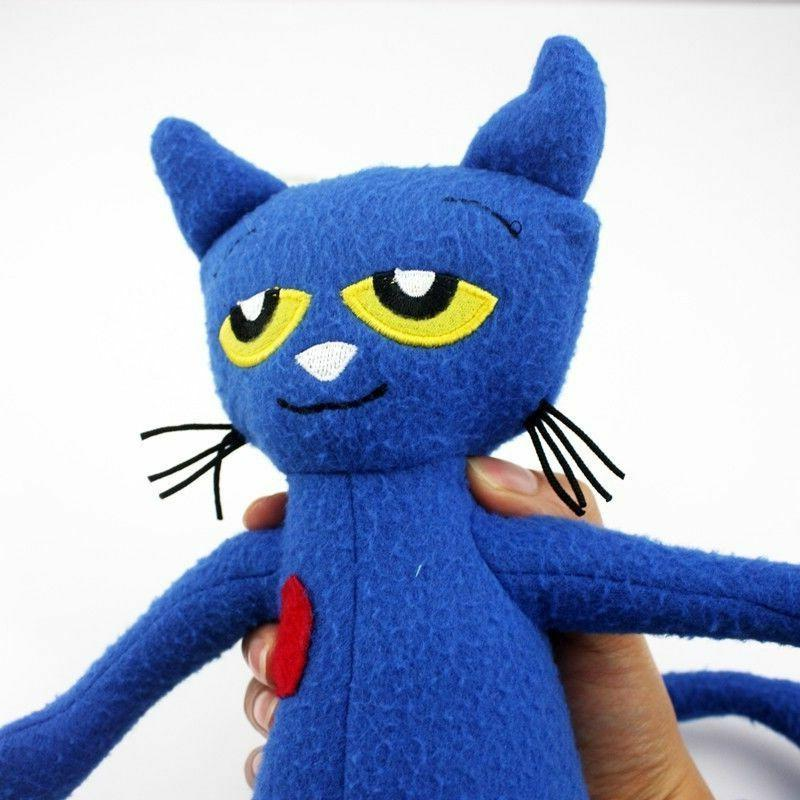 Pete Cat Plush 14 Inches Stuffed Animed Toy US Shipped Christmas
