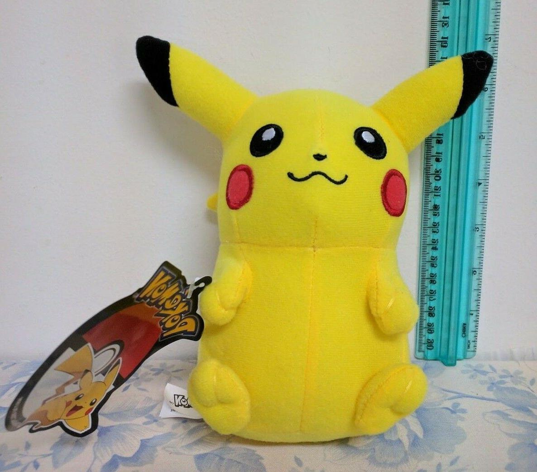 pikachu 6 plush pokemon new with tags