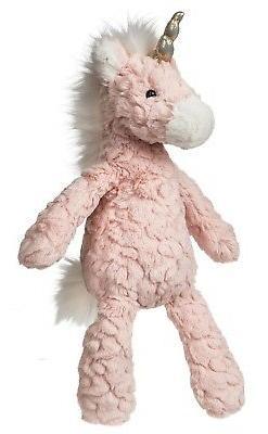 """Mary Meyer Pink Blush Putty Unicorn 13"""" Stuffed Plush Animal"""