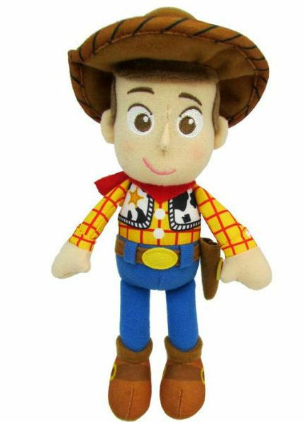 "Disney Pixar Toy Story 4 Woody 8"" Plush Doll Officially Lice"