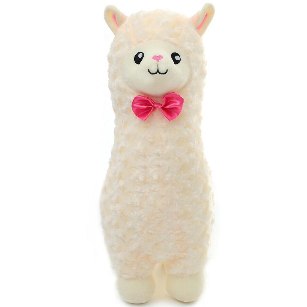 plush alpaca toy cuddly stuffed llama animal