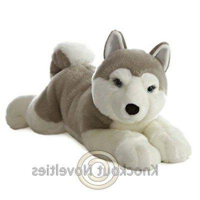 plush dog yukon husky super flopsie 27