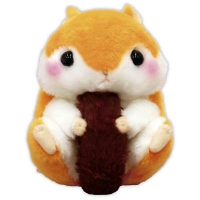 plush doll hamster korohamu colon squirrel lisumaru