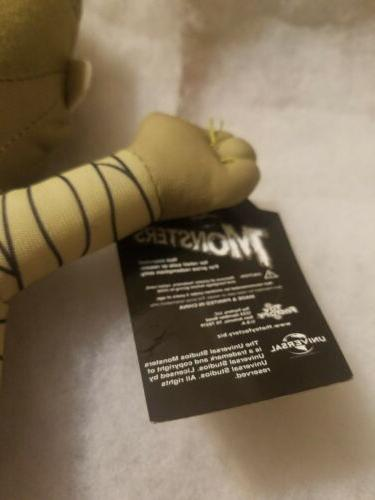 Plush Monster Factory Universal Toy Mummy Frankinstein