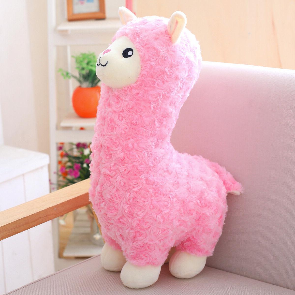 """Winsterch Llama 17.7"""" Cute Plush Toy"""