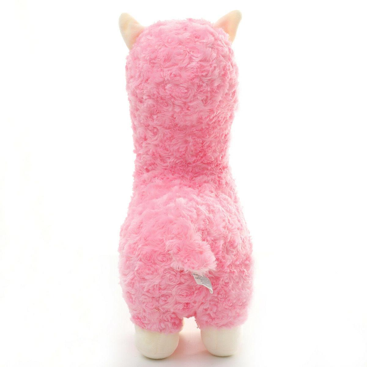 Winsterch Animals Llama Alpaca Plush Toy