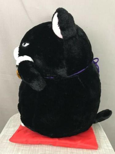 Amuse Plush Cat Plush Good Cat Black