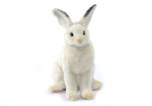 plush white bunny