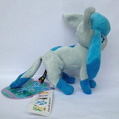 Glaceon Pokemon Character Glacia Animal Doll