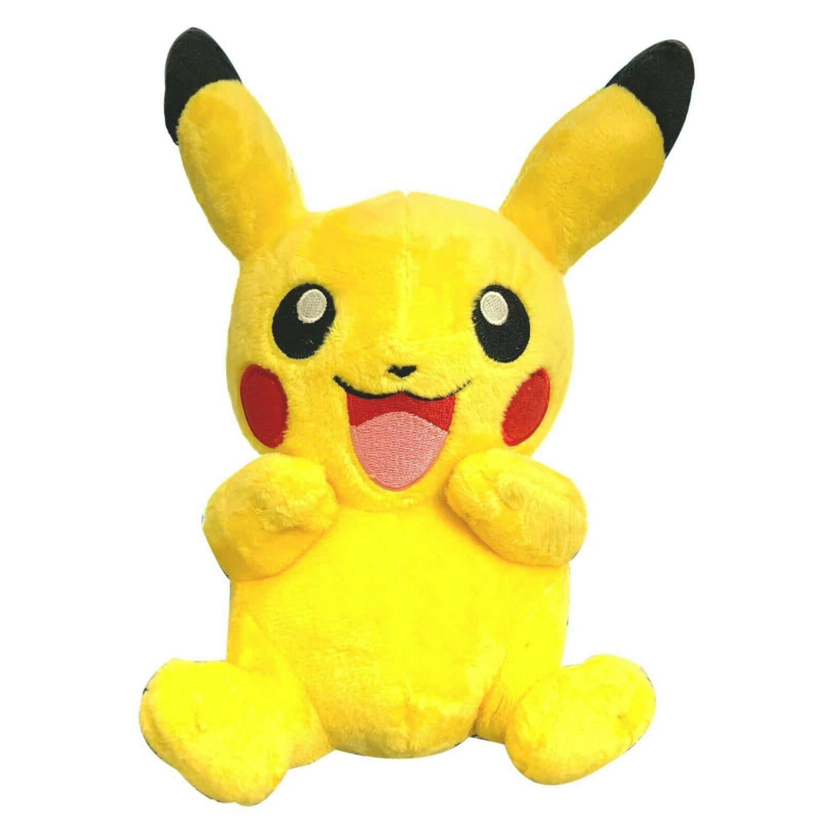 pokemon 9 pikachu stuffed animal soft plush