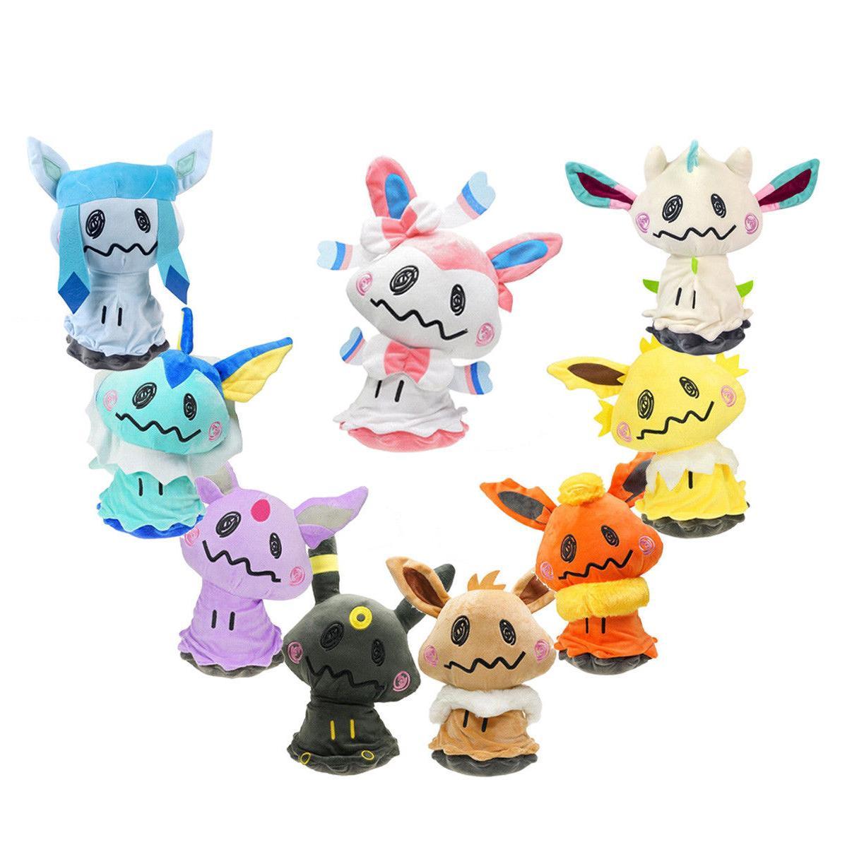 pokemon center mimikyu cosplay flareon eevee sylveon