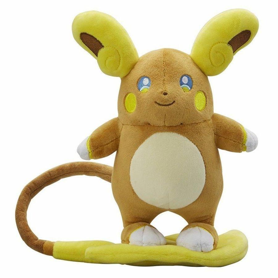 Pokemon Center Monster Alola Raichu Plush Toy Stuffed Figure