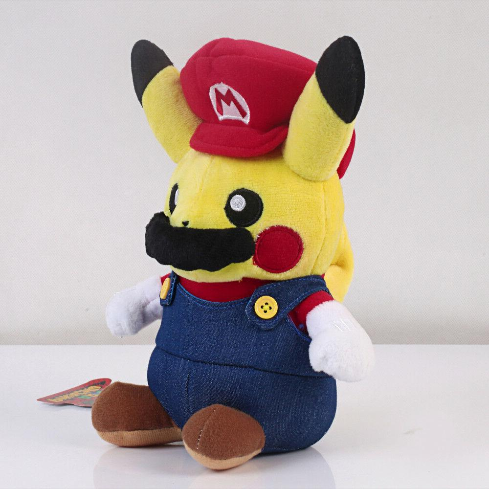 Pokemon Center Plushie Super Mario Figure US Ship