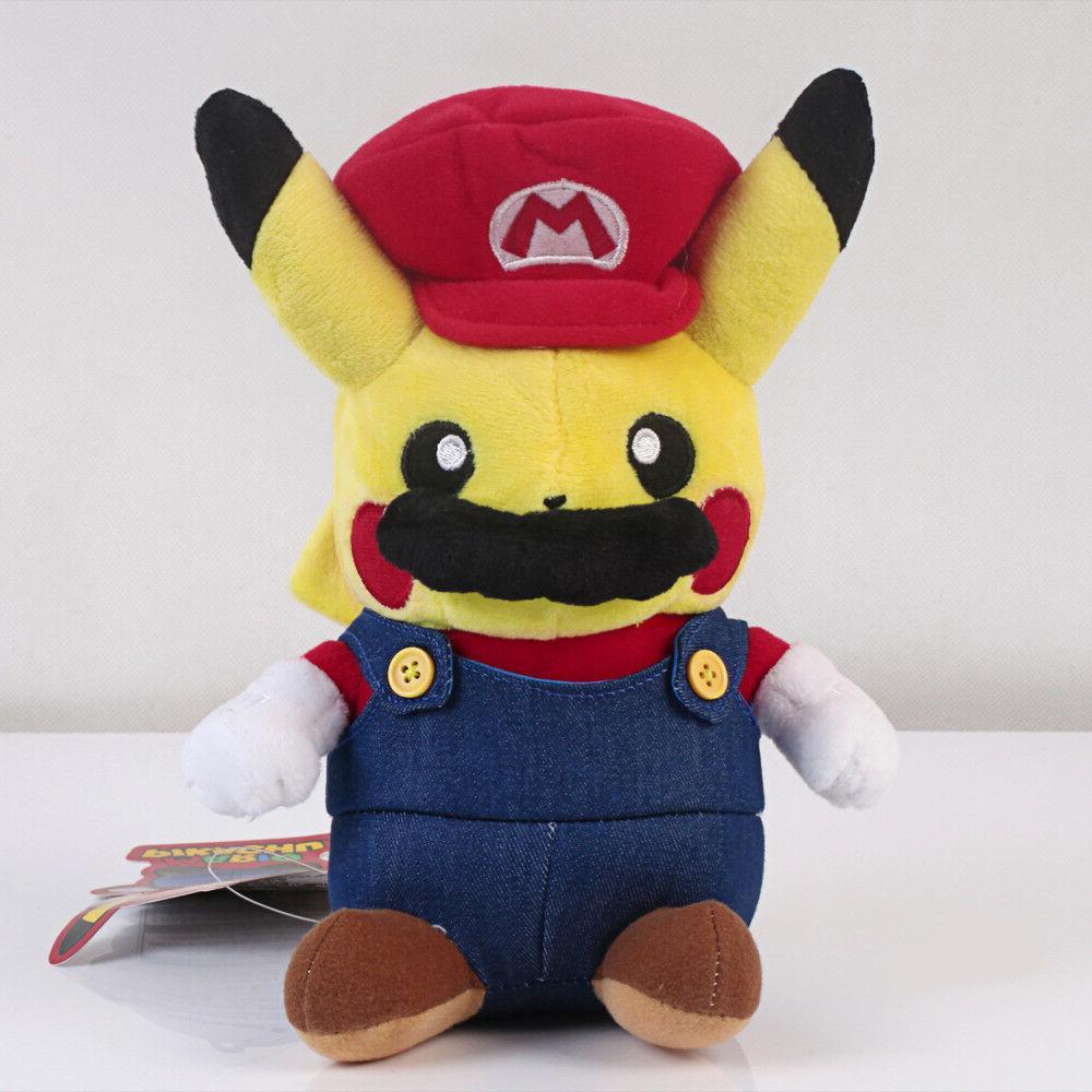 Pokemon Pikachu Plushie Super Mario Plush Figure US