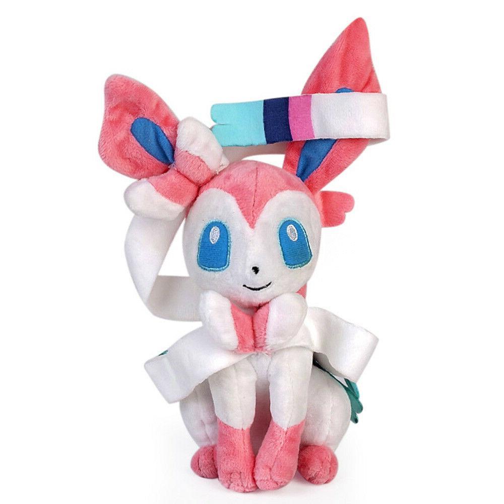 Pokemon Center Sylveon Stuffed Anime Plush Toy Doll Xmas 10'