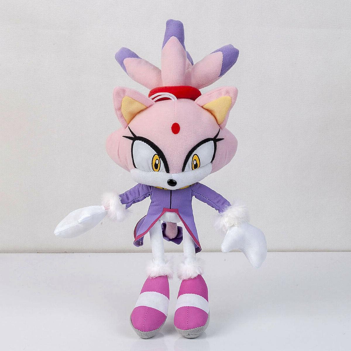 Blaze Doll Stuffed Animal Plushie Soft 13 In