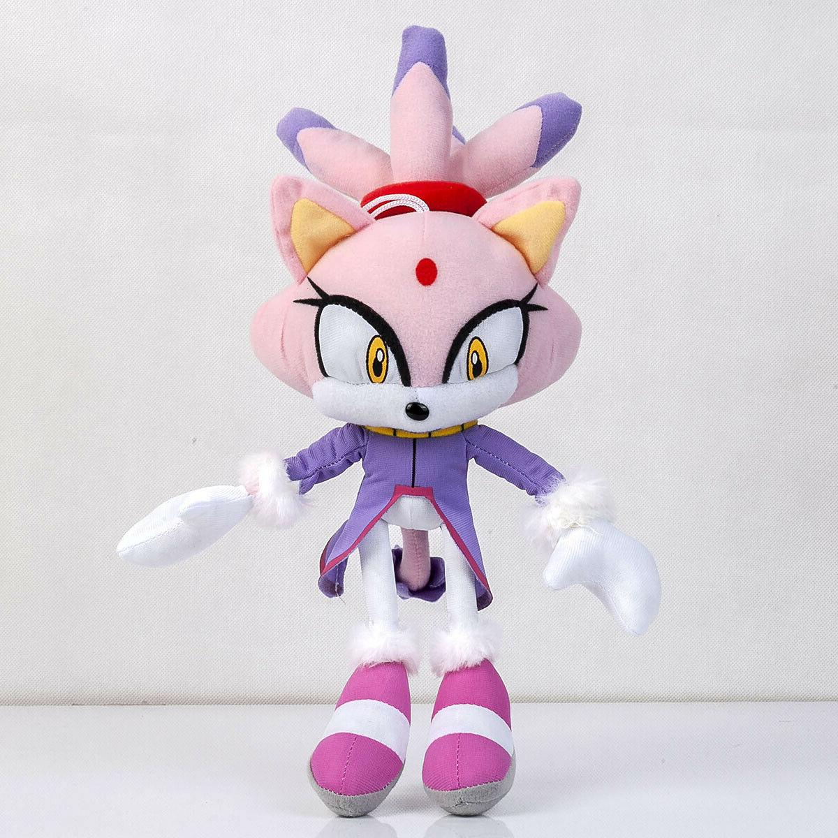 Blaze Plush Doll Stuffed Soft Toy Gift 13 In