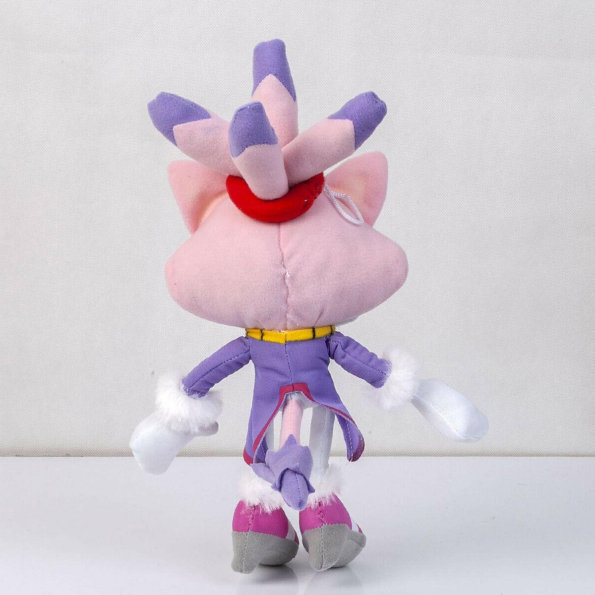 Sonic The Hedgehog Blaze the Cat Plush Doll Stuffed Toy 13 Inch