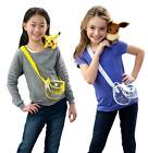Pokemon Collectible Shoulder Plush in Bag -  Eevee or Pikach