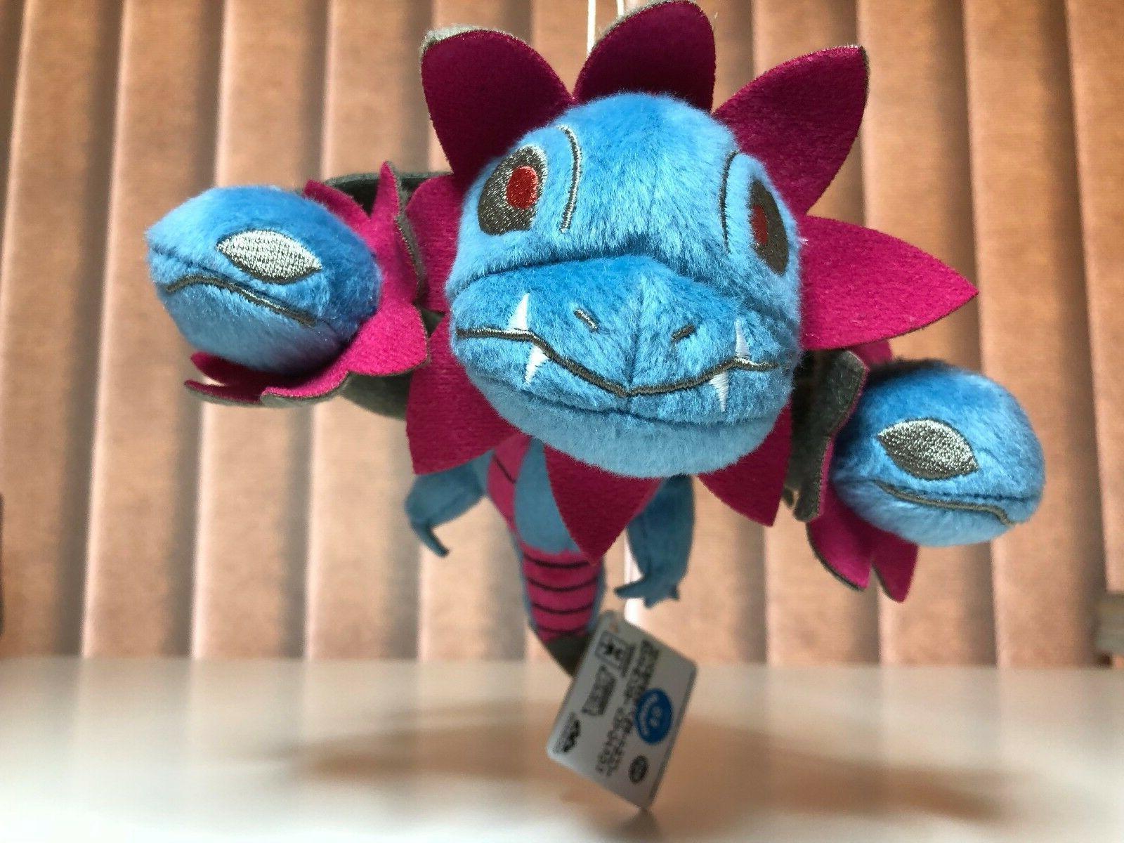 Pokemon Dragon Type Hydreigon Plush Toy Banpresto New w/Tag