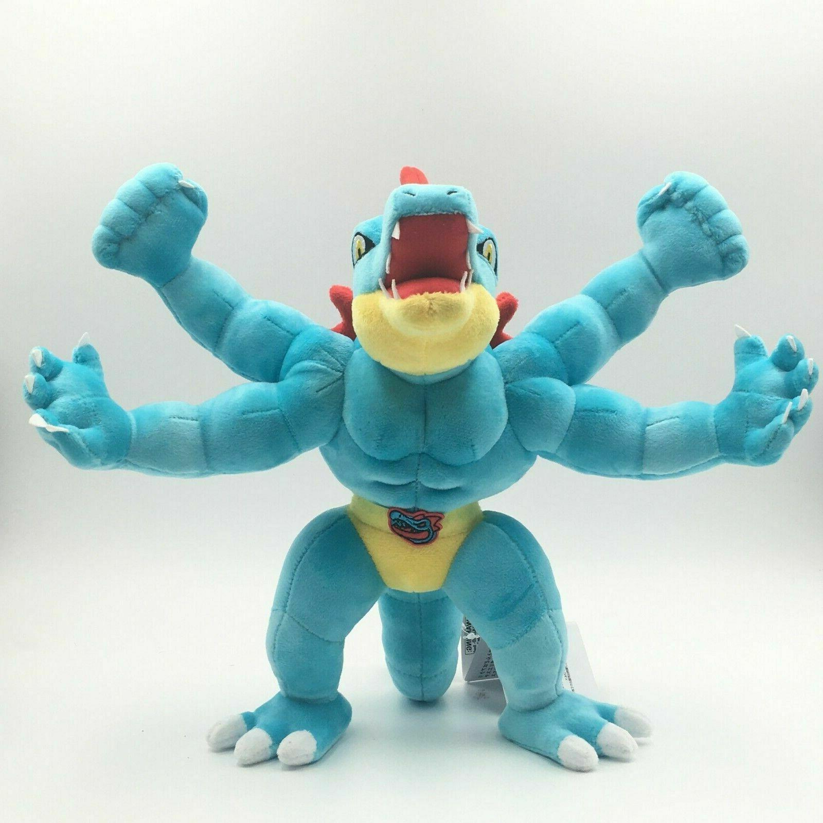 Pokemon Machamp Feraligatr Doll Collection Gift