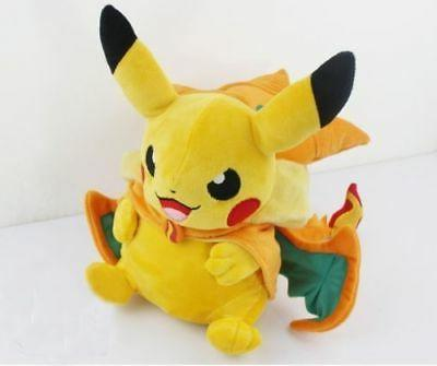 Pokemon Pikachu Mega Charizard Stuffed Toys Gifts