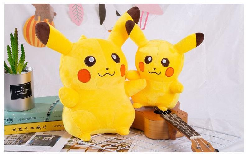 Takara Tomy Pikachu Plush Doll <font><b>Animals</b></font> <font><b>Stuffed</b></font> Birthday