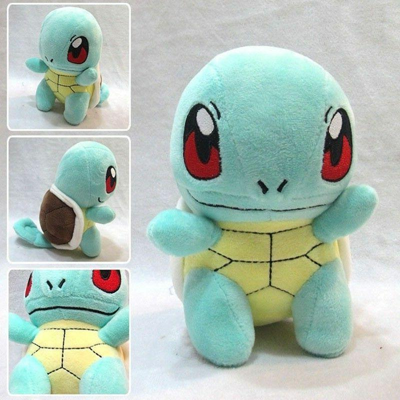 Pokemon Plush Pikachu Squirtle Kids Toys & Collection