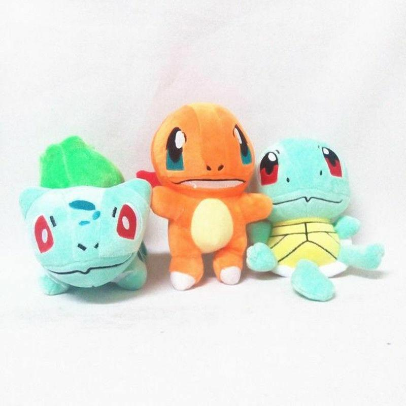 Pokemon Plush Squirtle Charmander Kids Toys &