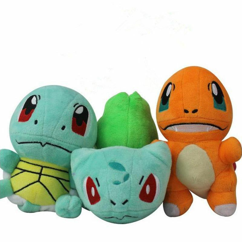 Pokemon Plush Bulbasaur Squirtle Charmander Animal Gift