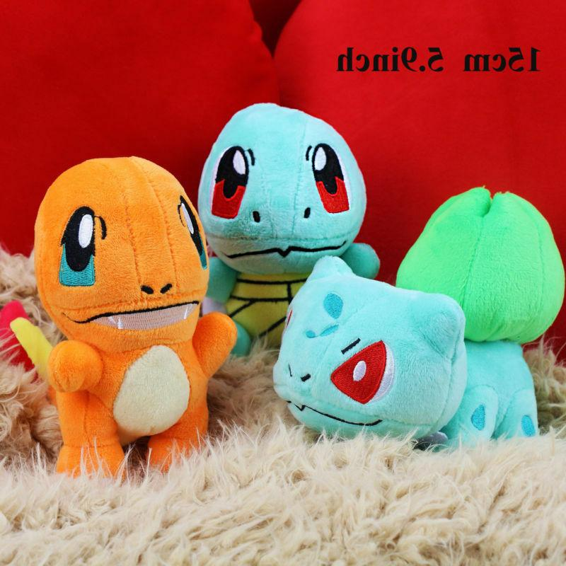 Pokemon Plush Squirtle Charmander Kids