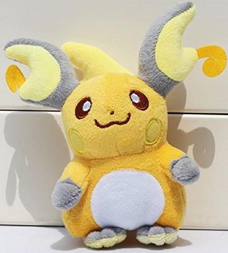pokemon raichu soft stuffed plush