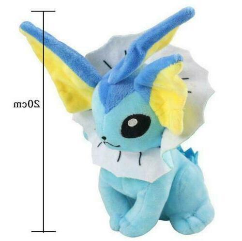 Pokemon Vaporeon Toy Figure Doll