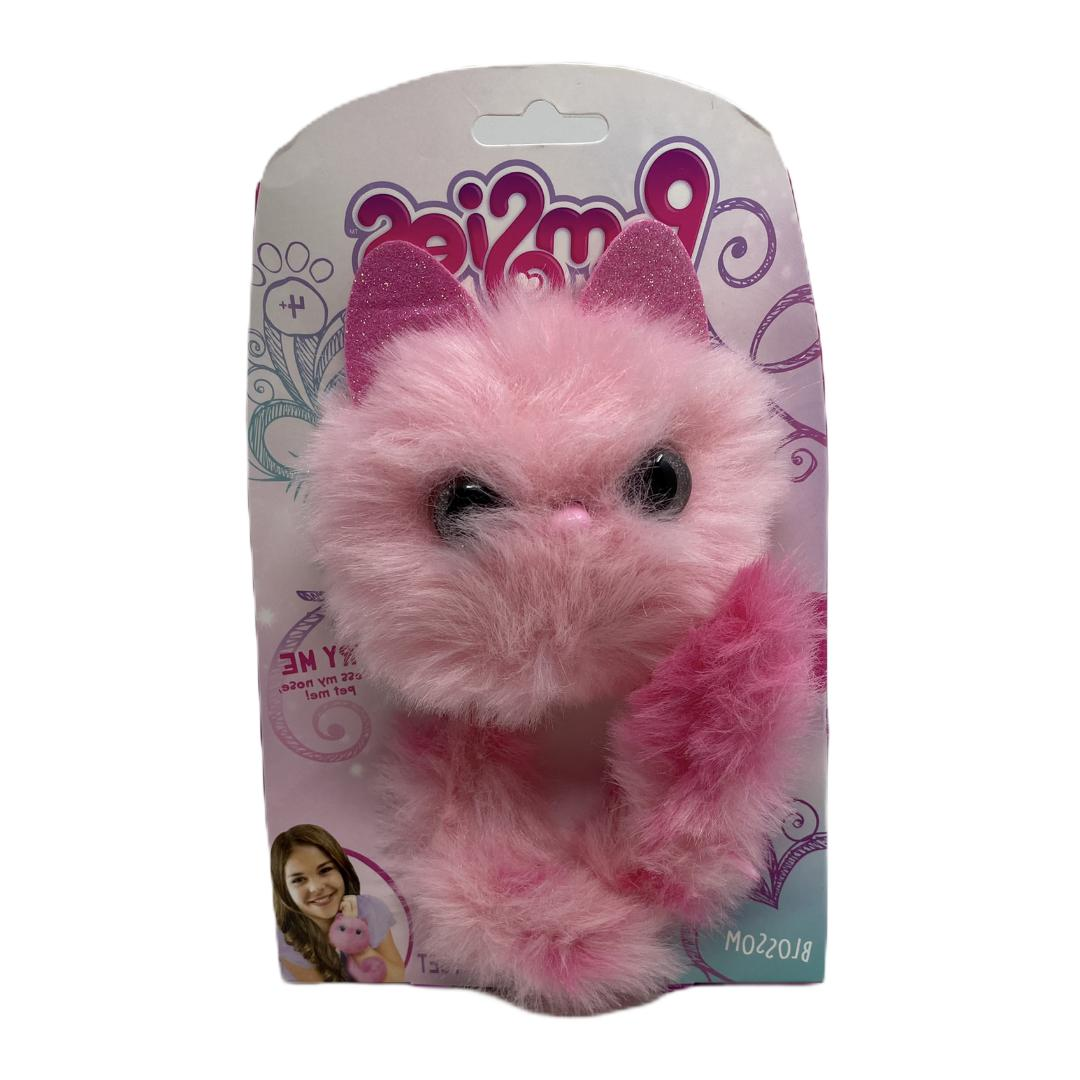 pomsies pet zoey pink dragon interactive wearable