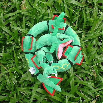 rayquaza pokemon go plush toy dragon snake
