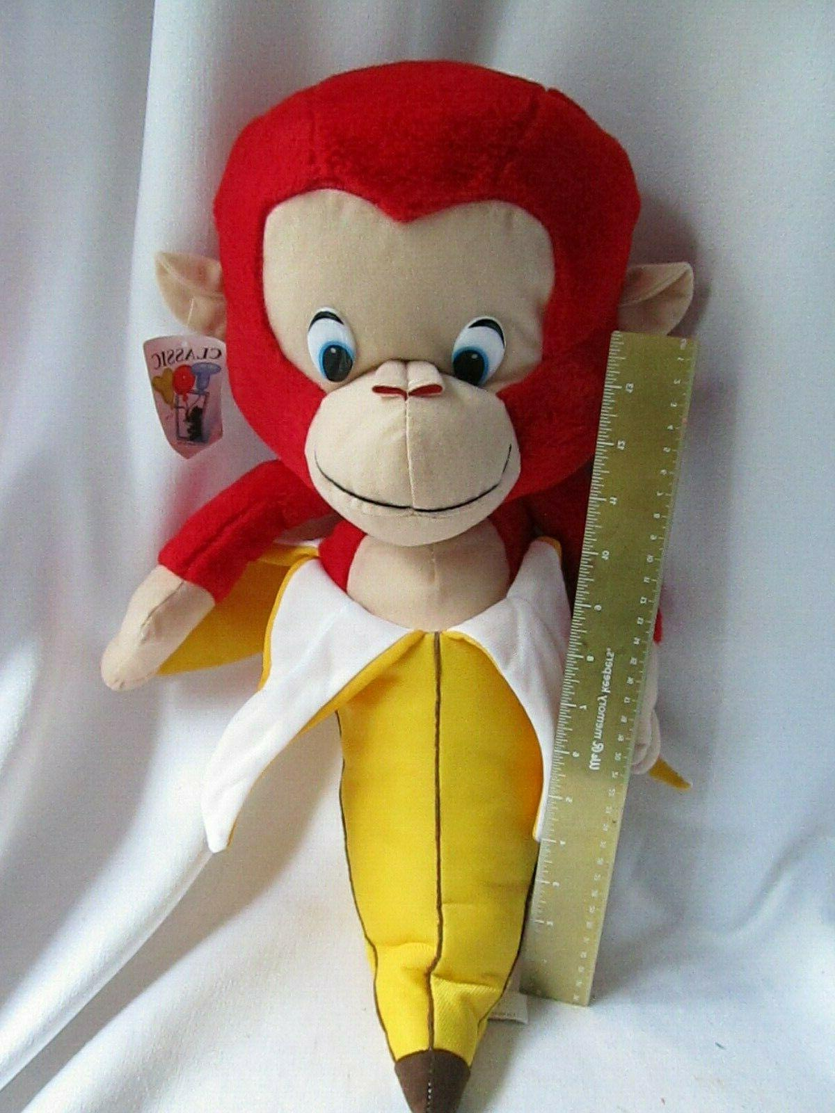 """Classic Toy Red Banana 21"""""""