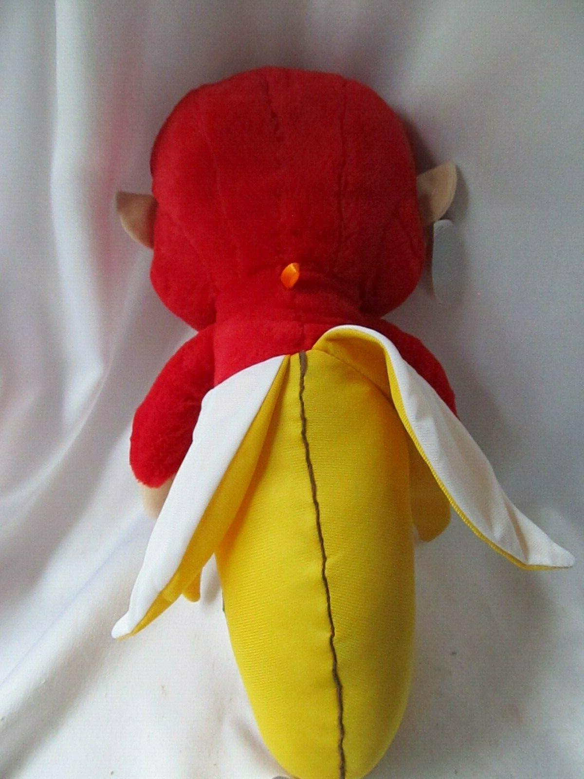 """Banana Plush Chimp 21"""" w/tag Carnival"""