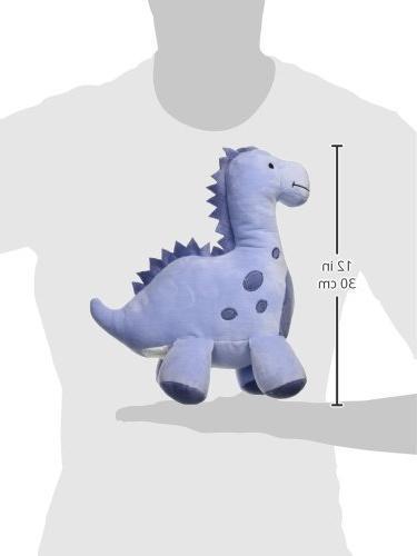 Bedtime Dinosaur Plush Rex, Blue