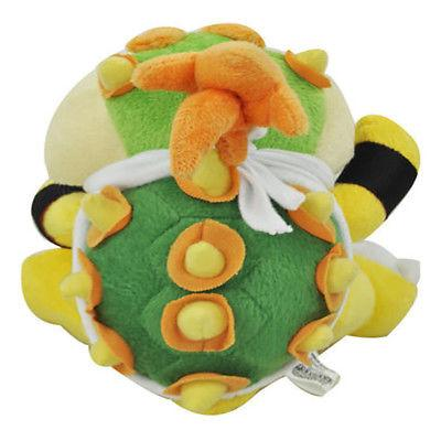 "Super Bros Bowser Jr Baby Toy Stuffed Animal 6"" US"